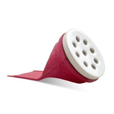 Mingitorio Ecológico MRC-5002 Mediano con rejilla de cerámica marca Makech