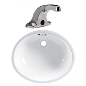 Paquete de Lavabo Ovalyn Llave Innsbrook 01124ISDC Selectronic