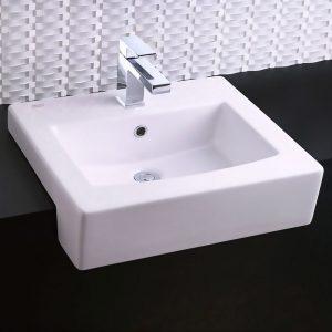 Lavabo con perforación monomando Boxe Sobreponer 0504001 American Standard