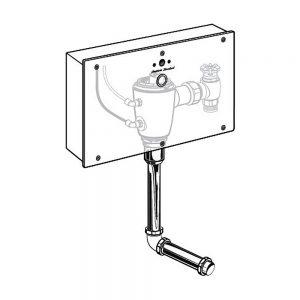 Fluxómetro Oculto de Conexión Eléctrica para mingitorio 606B405MX American Standard