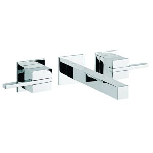 "Llave para lavabo Monomando de pared 8"" Kúbika E-3004 Helvex"