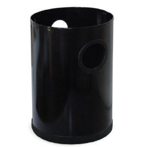 Contenedor de Basura Cilíndrico Pequeño Negro BI7010N Jofel